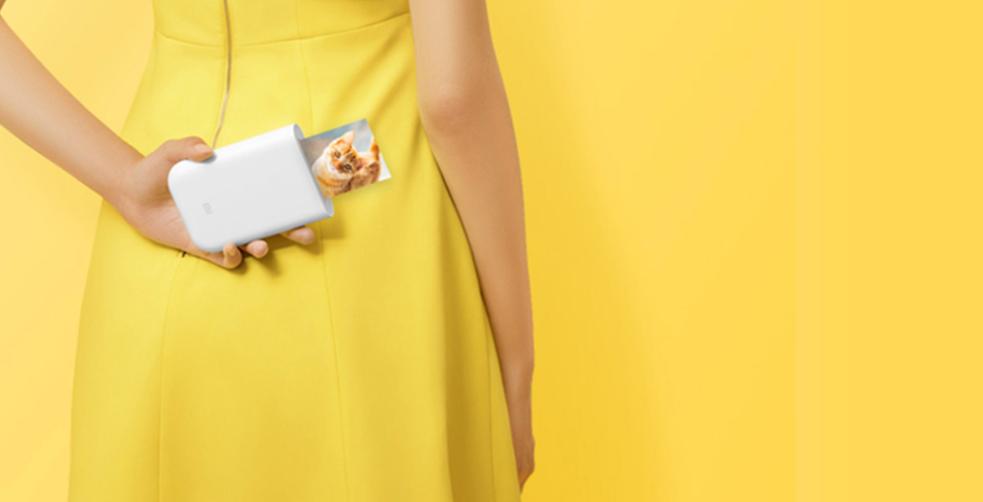 Xiaomi анонсирует свой новый портативный принтер, способный печатать фотографии с дополненной реальностью