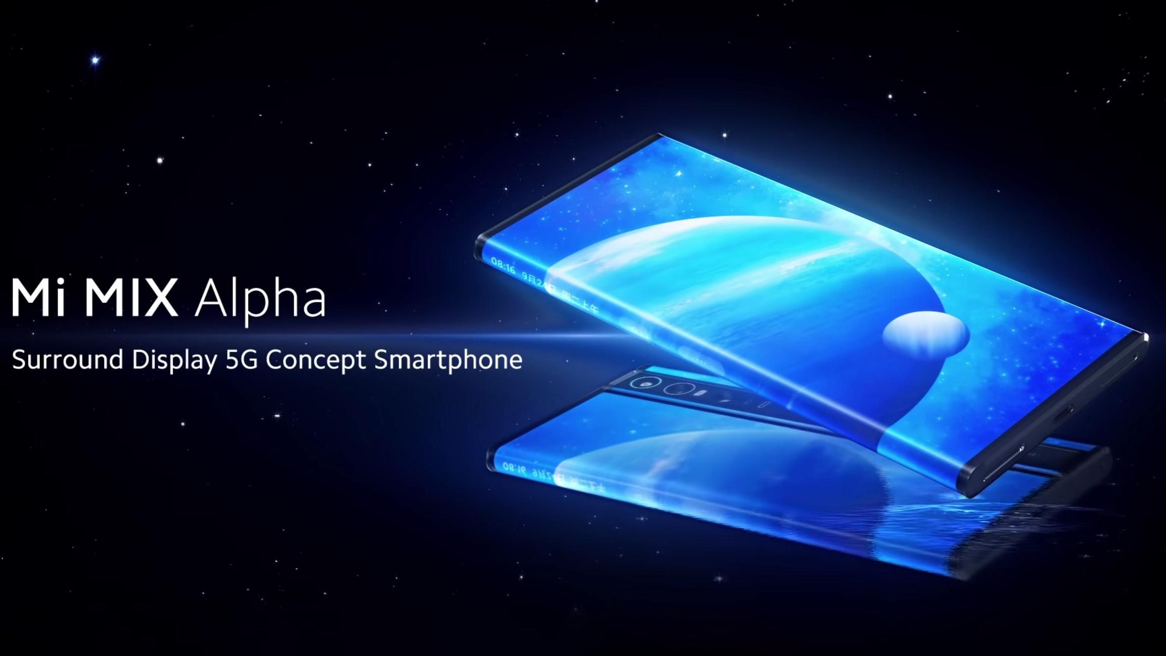 Xiaomi Mi Mix Alpha - больше экран, чем телефон, и это абсолютно абсурдно