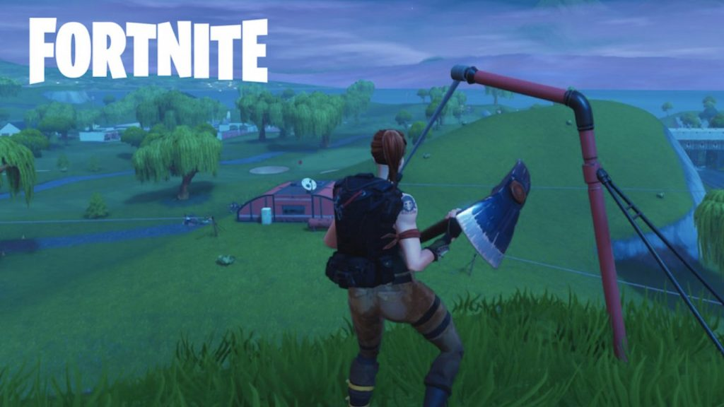 Ziplines временно отключены в Fortnite 10 сезон