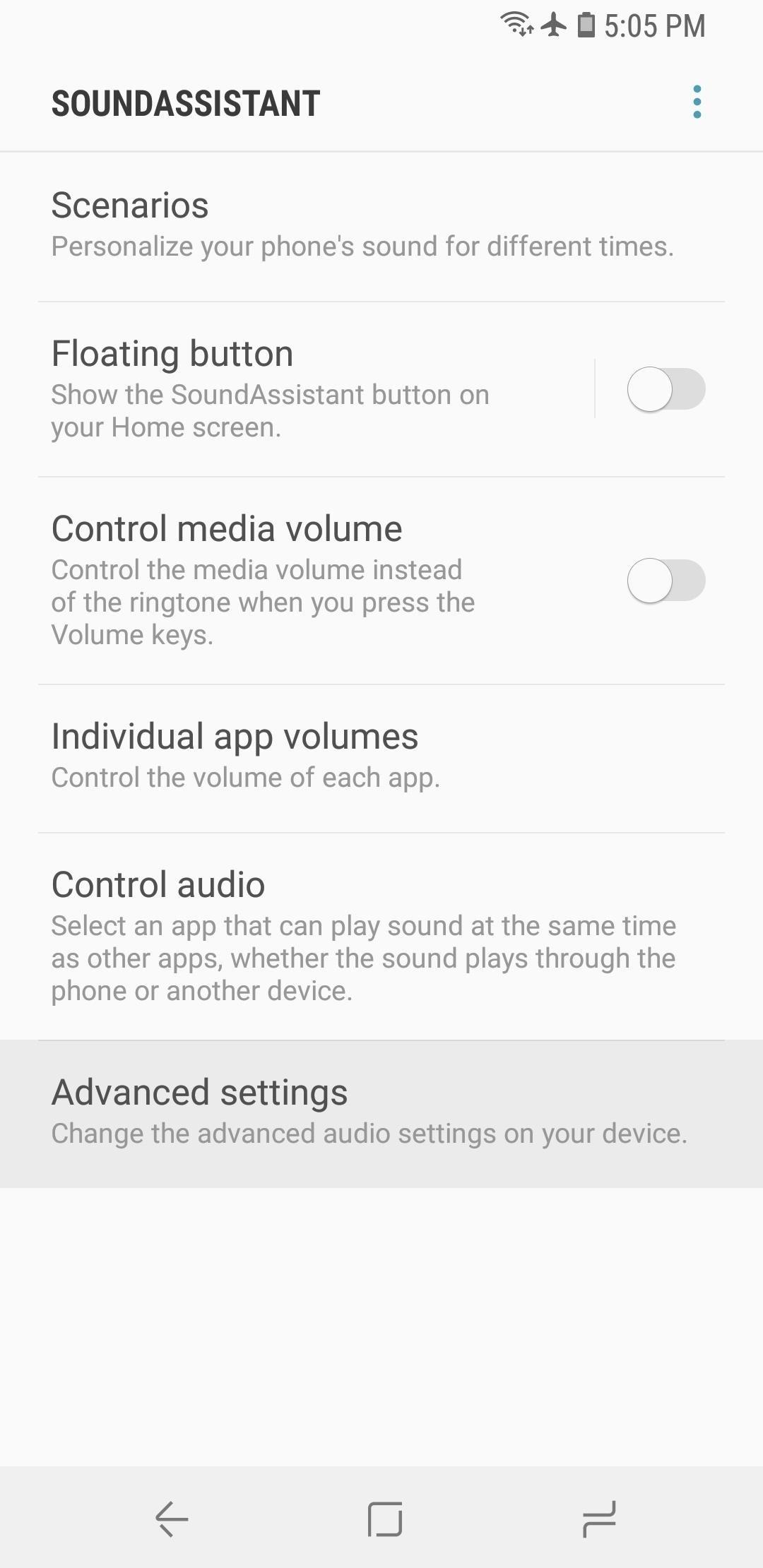 Как увеличить количество шагов громкости на вашем Galaxy S9