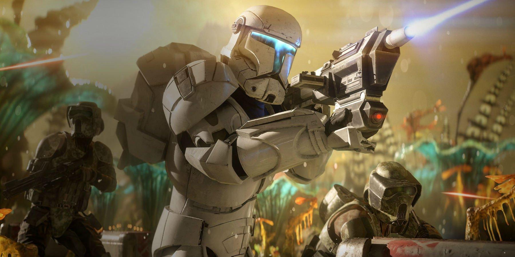 Обновление Starone Battlefront 2 - Clone Commando появилось на этой неделе
