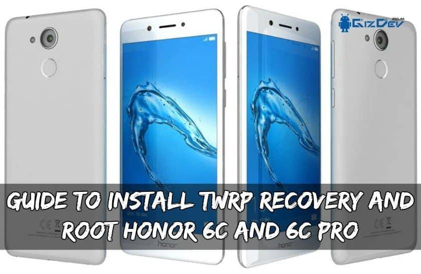 Руководство по установке TWRP Recovery And Root Honor 6C и 6C Pro