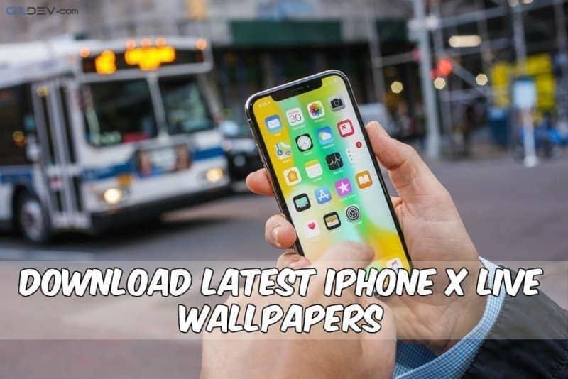 Последние живые обои для iPhone X