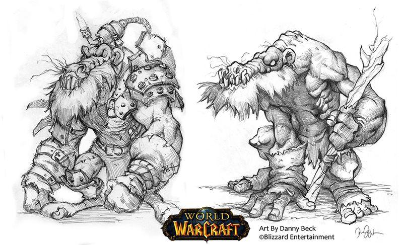 Концепция ордынских кобольдов в World of Warcraft