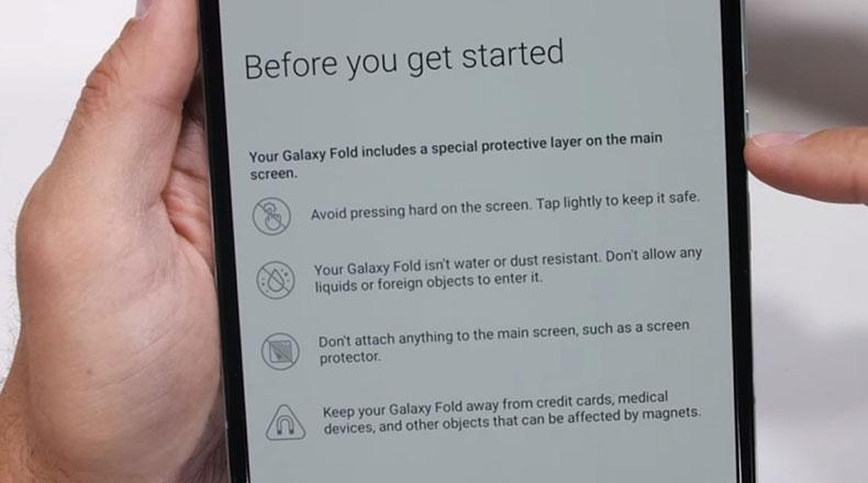 Galaxy Fold  Замена экрана 2