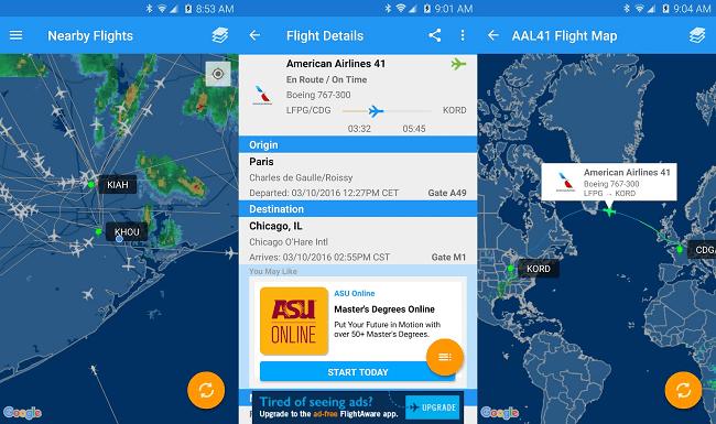 Имидж - 7 приложений для отслеживания рейсов