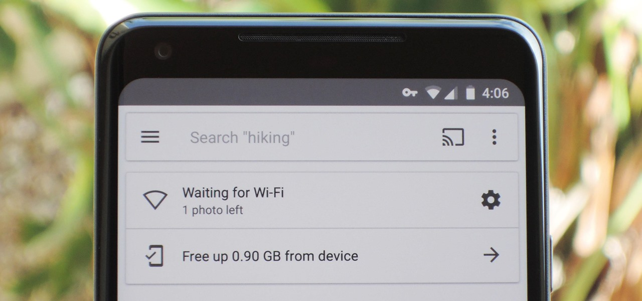 Google Photos Waiting for Wi-Fi? Here's the Fix