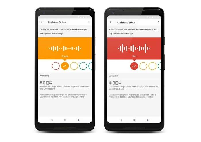 Google Assistant Имеет второй вариант голоса в девяти странах