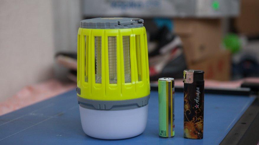 Лампа от комаров, часть 2: Уторч - это кемпинговый фонарь на 18650/21700 батарей 1