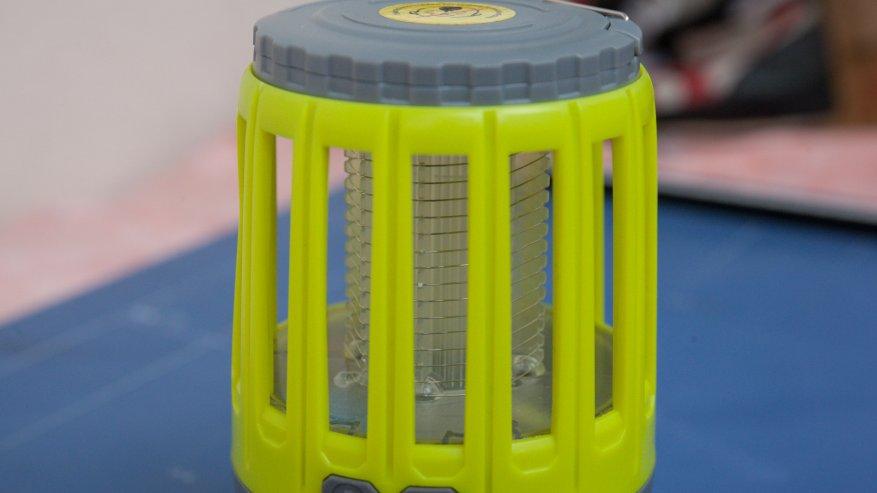 Лампа от комаров, часть 2: Уторч - это кемпинговый фонарь на 18650/21700 батарей 7