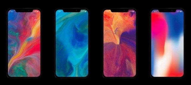 Скачать последние живые обои iPhone X для телефонов Android 1