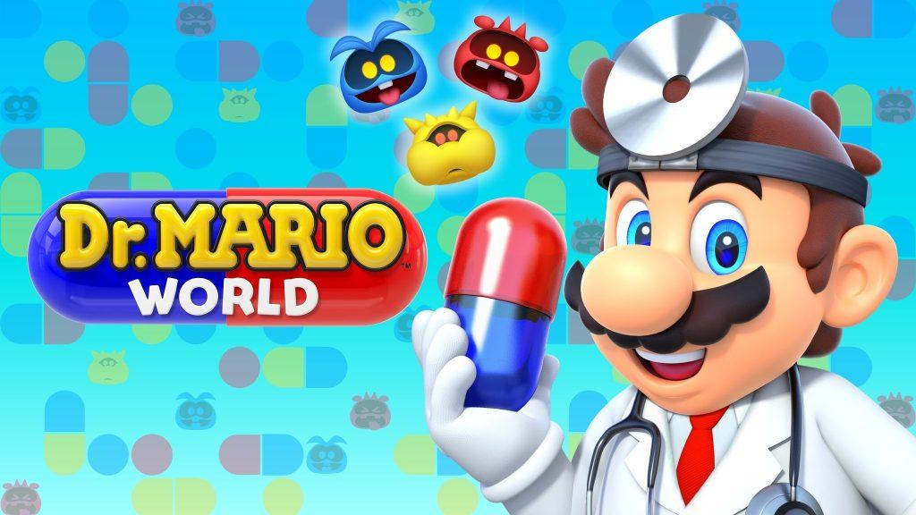 Nintendo объявляет о прибытии Dr. Mario World для iOS и Android 10 июля