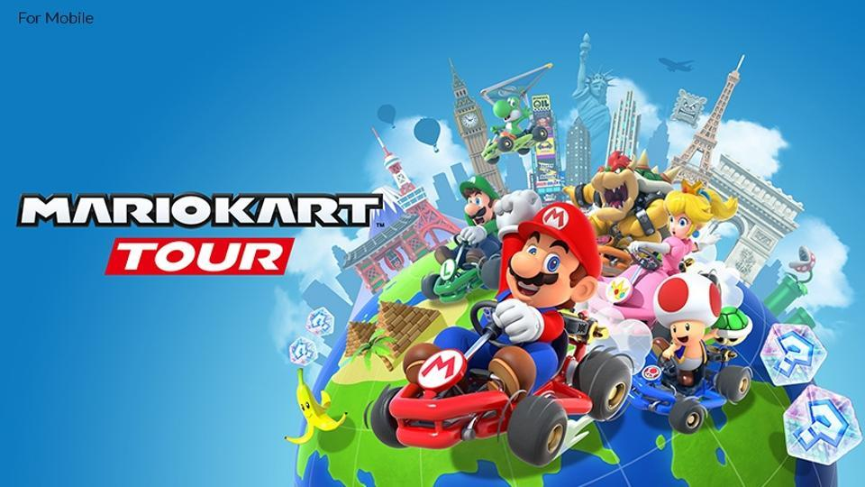Mario Kart Tour comes to mobile