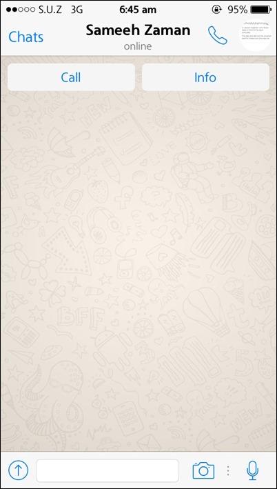 WhatsApp, приложение для обмена сообщениями, теперь позволяет звонить некоторым пользователям 2