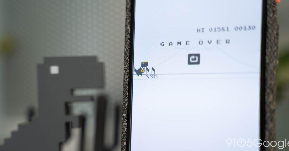 Игра Chrome Dino Run получила пасхальное яйцо на Олимпийских играх в Токио 1