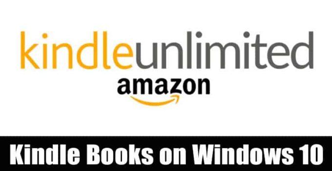 Как читать Amazon Kindle  Книги на Windows 10