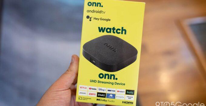 Коробка Walmart Onn получает обновление Android TV с новым патчем безопасности, исправлениями зависания и многим другим 265