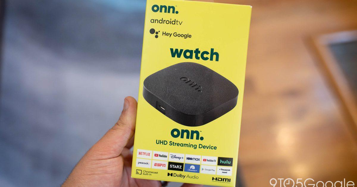 Коробка Walmart Onn получает обновление Android TV с новым патчем безопасности, исправлениями зависания и многим другим 1