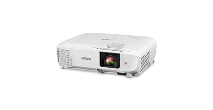 Новый доступный проектор Epson 1080p с поддержкой Android TV с Netflix и Prime Video 95