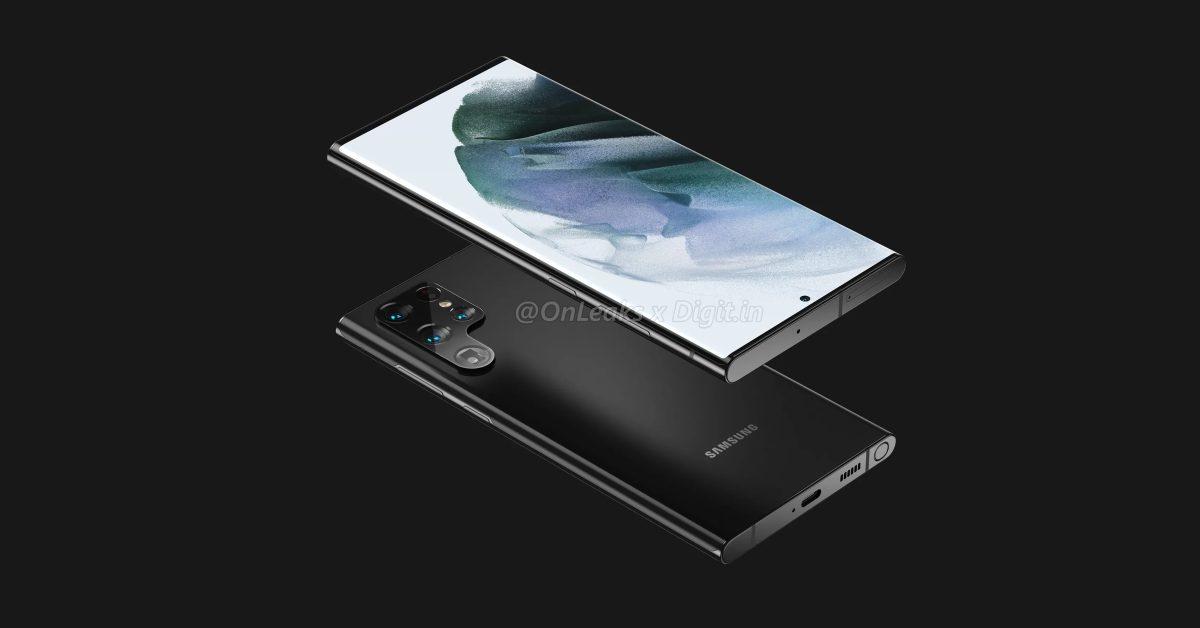 Первый заслуживающий доверия Galaxy Утечка S22 Ultra демонстрирует Noteвдохновленный дизайн, бункер S Pen 1