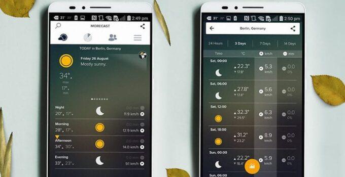 10 лучших погодных приложений для вашего Android-устройства