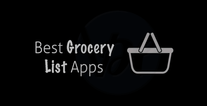 Best Grocery List Apps