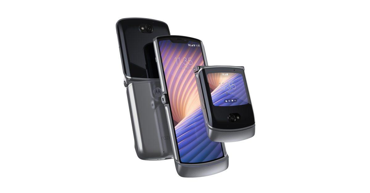 Amazon открывает новые коробки Motorola Razr 5G, чтобы предварительно сложить устройство 1