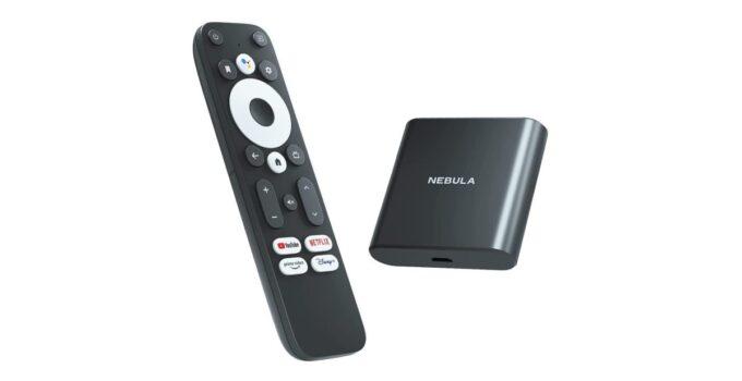 Anker запускает свой Android-телевизор Nebula с пультом дистанционного управления Google по цене 90 долларов 275