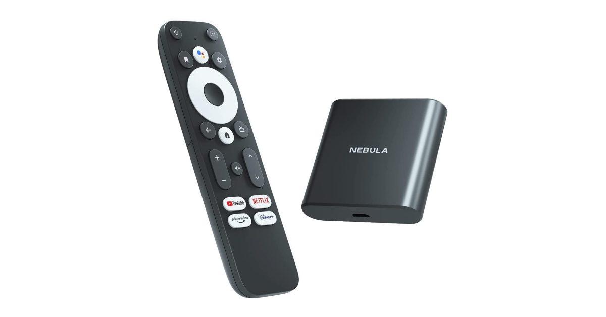 Anker запускает свой Android-телевизор Nebula с пультом дистанционного управления Google по цене 90 долларов 1