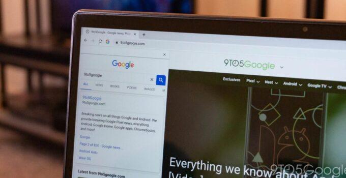 """Chrome добавляет панель """"Боковой поиск"""", которая упростит просмотр результатов Google. [Video] 107"""