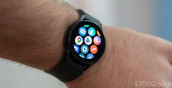 Galaxy Последнее обновление Wear OS от Watch 4 устраняет проблемы с сенсорной панелью 135