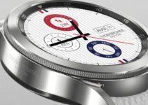Galaxy Часы 4 выпускаются ограниченной серией Thom Browne с родиевым покрытием по цене 799 долларов 4
