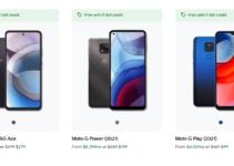 """Google Fi добавляет новые телефоны Motorola и запускает промо-план """"Безлимитный"""" 3"""