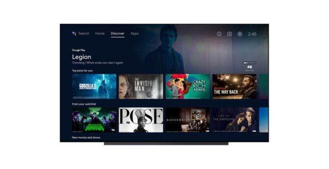[Update: Rolling out] Обновление Android TV добавляет список просмотра, функции рекомендаций от Google TV 225