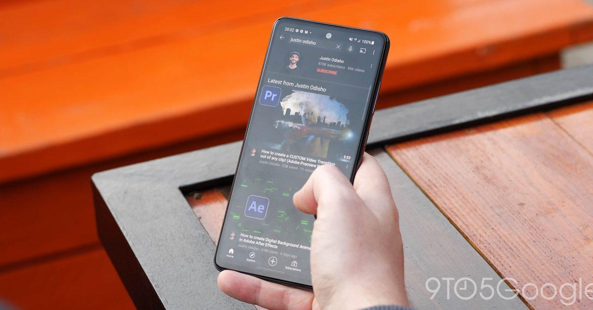 YouTube для Android теперь позволяет пропускать главы видео двойным касанием двумя пальцами 1