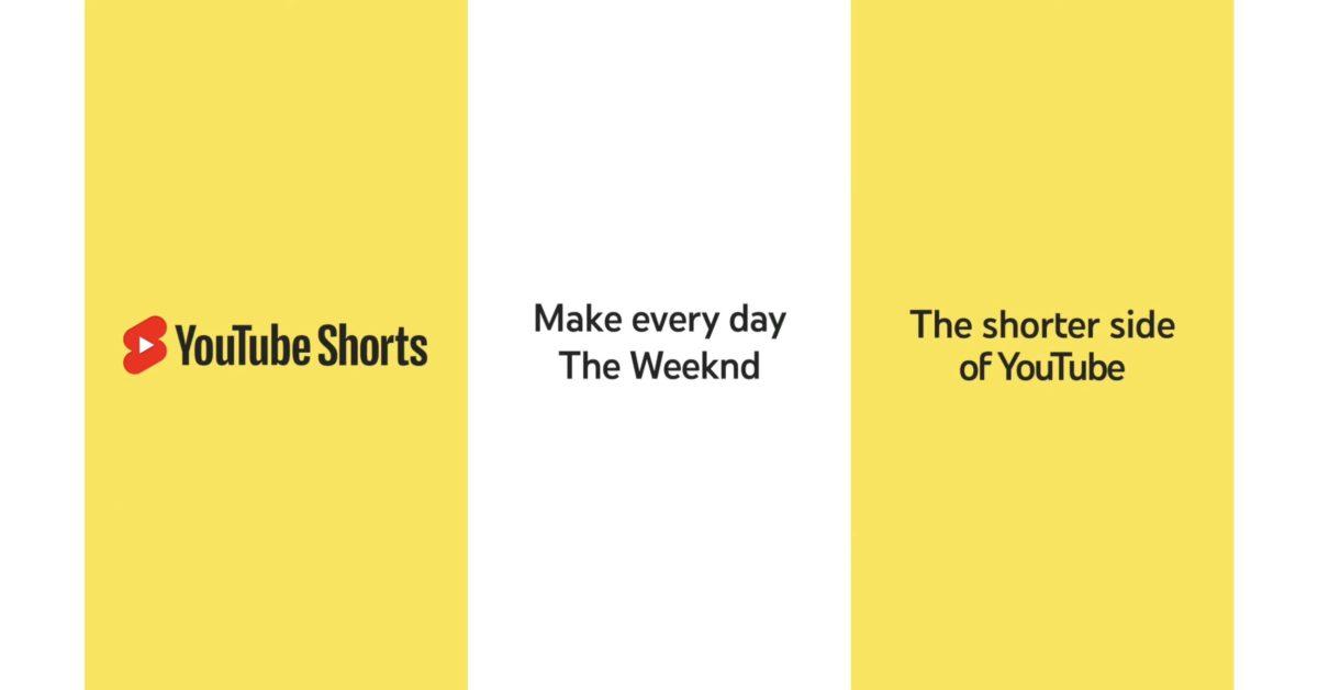 YouTube запуск глобальной рекламной кампании по продвижению шорт напрямую в TikTok, Snapchat и др. 1