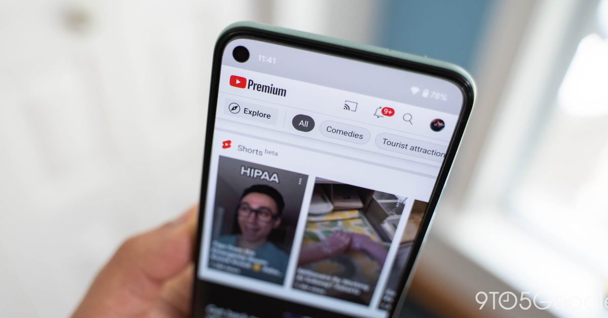 YouTube Shorts, версия Google TikTok, теперь доступна по всему миру. 1