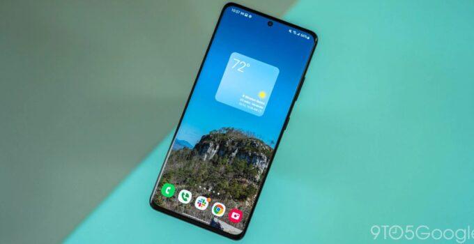 Новый виджет Samsung Weather для домашнего экрана чувствует себя как дома в Android 12 23