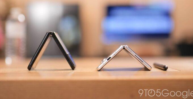 Galaxy Z Fold 3. По сообщениям, только в Южной Корее было продано 1 миллион единиц Flip 3. 83