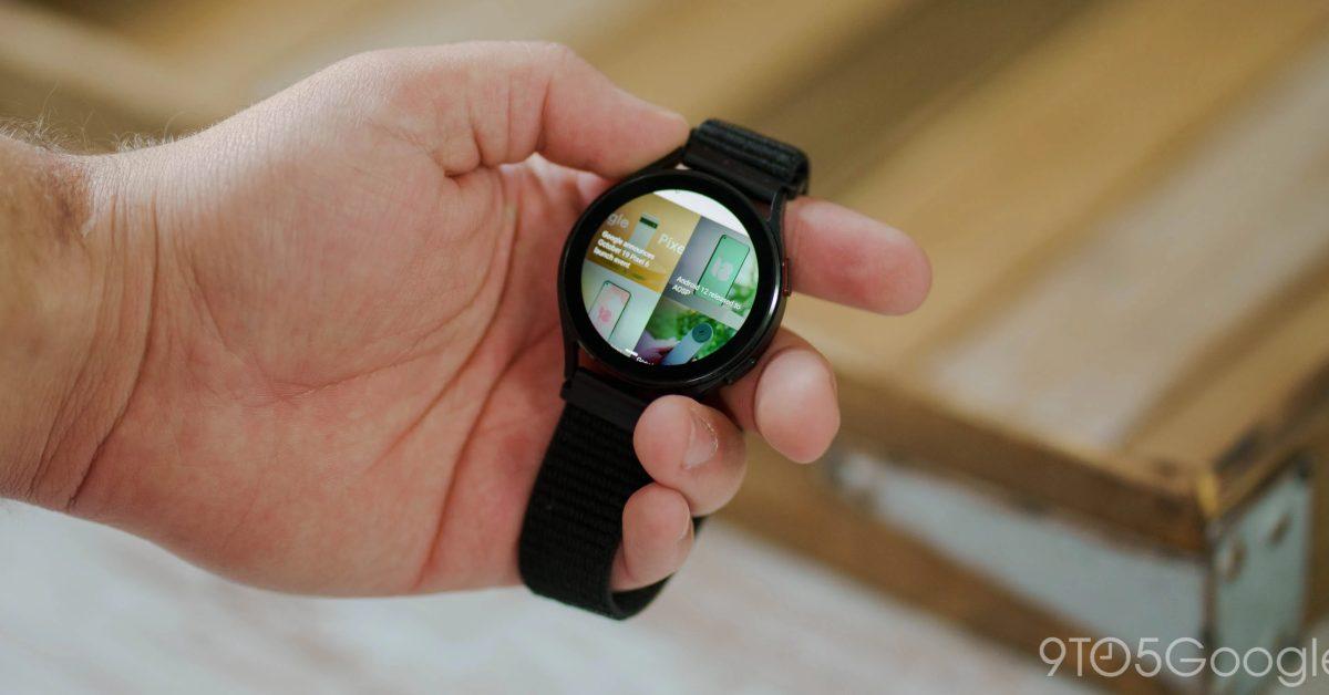 Samsung переносит свой интернет-браузер на Wear OS для Galaxy Смотреть 4 1